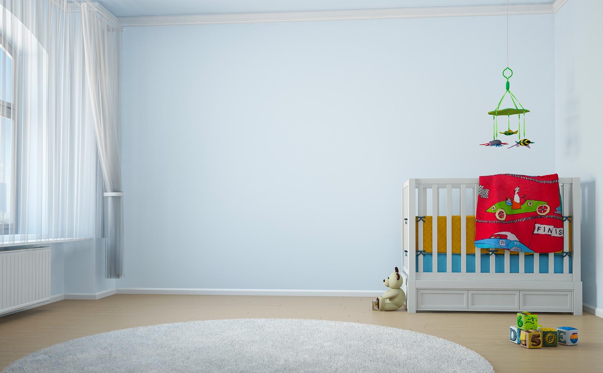 Peinture dépoluante chambre enfant